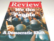 """THE HORACE MANN REVIEW - """"WE THE PEOPLE"""" MAGAZINE USED - GOOD - W15"""
