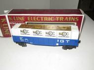 VINTAGE K-LINE TRAINS - K-90005 - 1994 KCC GT GONDOLA W/LOAD- 0/027- BOXED- B12