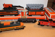 LIONEL 18302 GREAT NORTHERN ELECTRIC FALLEN FLAGS SET #3 W/6 CARS-LN- B2R