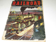 VINTAGE RAILROAD MAGAZINE- FEBRUARY 1951- FAIR- W4
