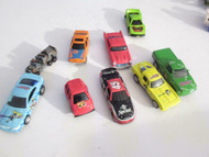 9 ASSORTED DIECAST CARS - RACING CHAMPIONS/HOT WHEELS ETC- GOOD H44