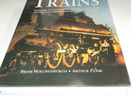 THE GREAT BOOK OF TRAINS- STEAM LOCO COVER- NEW- 400 PAGES - S7