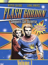 DVD- FLASH GORDON CONQUERS THE UNIVERSE- VOLUME 1 - -DVD - - NEW- L53A