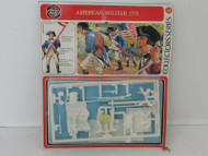 VTG 1970'S AIRFIX O SCALE PLASTIC FIGURES AMERICAN SOLDIER 1775 ENGLAND H3