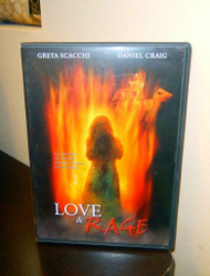 DVD- LOVE AND RAGE - DVD AND CASE- USED - FL2