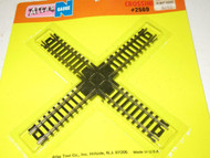 ATLAS N SCALE- #2569 - 90 DEGREE CROSS-OVER TRACK- NEW - M35