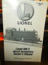 - LIONEL OWNERS MANUAL- NM-2 DIESEL LOCOMOTIVE - M33
