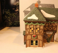DEPT 56 58334 T. PUDDLEWICK SPECTACLE SHOP DICKENS VILLAGE BLDG NO CORD