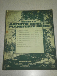 VINTAGE SHEET MUSIC- BOOSEY'S ARTISTIC SERIES OF PIANOFORTE- GOOD CONDITION- H51