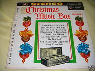 CHRISTMAS MUSIC BOX FAVORITES STEREOPHONIC 33LP