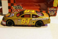 RACING CHAMPIONS 1/24TH- NASCAR DIECAST - #94- McDONALDS - NEW- S1