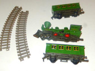 TOY TOWN TRAIN PARTS- MIXED- GOOD - H14-