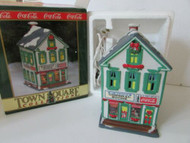 COCA COLA BRAND TOWN SQUARE LIGHTED VILLAGE BLDG MCMAHON'S GENERAL STORE MINT