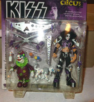 McFARLANE KISS PSYCHO CIRCUS DOUBLE PACK- PAUL STANLEY/THE JESTER MINT- L79