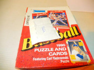 BASEBALL CARDS -SCORE -DONRUSS 1990 SET- BOX B - INCOMPLETE- - POT-LUCK-- S1