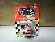 L37 RACING CHAMPIONS BILL ELLIOTT #94 1995 PREVIEW DIE-CAST CAR NEW ON CARD