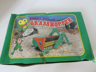 "12 WINDUP NOVELTY TOYS CRAWLING GRASSHOPPERS 4"" LONG COUNTERTOP DISPLAYS"
