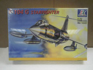 NEW MODEL- ITALERI MODEL KIT NO.1223- F-104 G STARFIGHTER- 1:72- NEW- W55