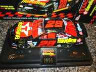 DIECAST RACING CHAMPIONS-TEXACO HAVOLINE 1996 ERNIE IRVAN RACE CAR- BOXED-S1