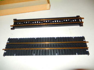 HO - TWO BRASS TRACKS ON BRIDGE SECTIONS- EXC- H22