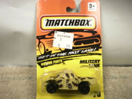 L37 MATCHBOX #70 MILITARY TANK NEW ON CARD