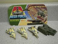 MEGA FORCE- V-ROCKS FIGHTER BOMBERS (3)- RETIRED- L214