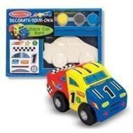 NEW MELISSA & DOUG BUILD YOUR OWN BANK - RACE CAR- #3332