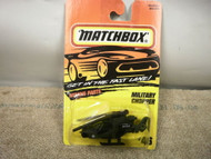 L37 MATCHBOX #46 MILITARY CHOPPER NEW ON CARD