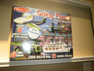 MELISSA & DOUG 432 GOING PLACES 4 FLOOR PUZZLES 48 TOTAL PIECES 3+ NEW