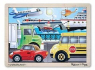NEW 2931 MELISSA & DOUG ON THE GO JIGSAW PUZZLE