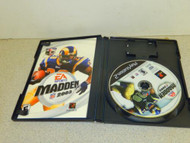 PLAYSTATION 2 VIDEO GAME--MADDEN 2003 -- CASE,MANUAL & DISC- USED