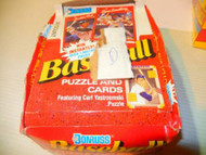 BASEBALL CARDS -SCORE -DONRUSS 1990 SET- BOX D - INCOMPLETE- - POT-LUCK-- S1