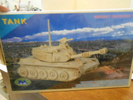 SUNMATE #80838 WOOD CONSTRUCTION MODEL KIT TANK NEW GREAT PROJECT