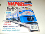 CLASSIC TOY TRAINS MAGAZINE- JANUARY 2003- GOOD - W21