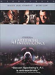 ARTIFICIAL INTELLIGENCE DVD HALEY OSMENT JUDE LAW 2 DISC DVD NICE L53D