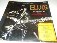 ELVIS IN PERSON AT THE INTL. HOTEL/BACK IN MEMPHIS- RCA DOUBLE ALBUM- FAIR- L152