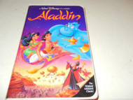 DISNEY VHS TAPE- ALADDIN - USED- GOOD CONDITION- L42A