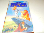 DISNEY VHS TAPE- THE LION KING - USED- GOOD CONDITION- L42A