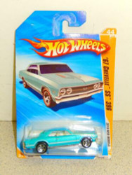 HOT WHEELS- '67 CHEVELLE SS 369- NEW ON CARD- L37
