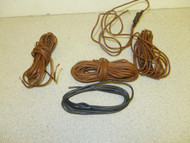 WIRE- HEAVY DUTY - 4 SMALL SETS - EXCELLENT FOR LIONEL - H6