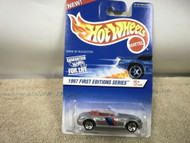 L37 MATTEL HOT WHEELS 16671 BMW M ROADSTER 1997 FIRST EDITIONS #6/12 NEW ON CARD