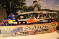 SUNOCO 1999- CAR CARRIER W/RACECAR -W/LIGHTS - NEW - B1