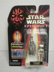 KENNER STAR WARS FIGURE- EPISODE 1- COLLECTION 3- GASGANO- NEW- SH