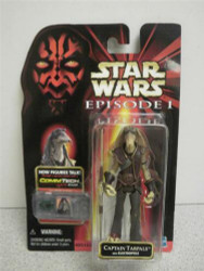 KENNER STAR WARS FIGURE- EPISODE 1- COLLECTION 3- CAPTAIN TARPALS- NEW- SH