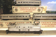 WILLIAMS TRAINS - TCA 25TH ANNIVERSARY GG-1 PASSENGER SET- NEW - B1T