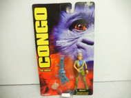 KENNER 62716 CONGO THE MOVIE KAREN ROSS ACTION FIGURE-1995 -CARDED-NEW -L231