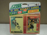 HOCKEY CARDS SCORE 1991- CANADIAN ENGLISH SERIES 1- ULF SAMUELSSON- NEW- L136