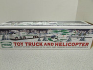 2006 HESS TOY TRUCK AND HELICOPTER EXCELLENT BOXED S1