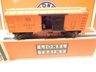 LIONEL POST-WAR - 3464 SANTA FE OPERATING BOXCAR- LN - 0/027. - B12