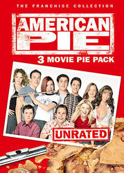 AMERICAN PIE 3 MOVIE PIE PACK UNRATED DVD L53K